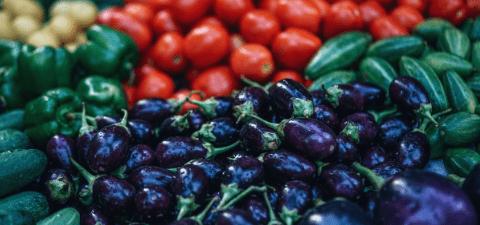 koolhydraatarm, ovenschotel, aubergine, tomaat